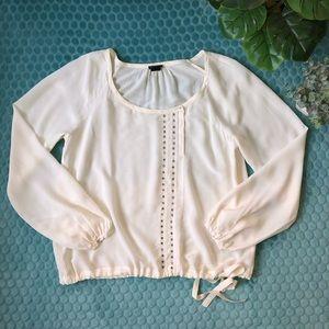 Club Monaco | silk blouse | size medium